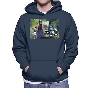 TV Times Jools Holland By A Classic Car Men's Hooded Sweatshirt