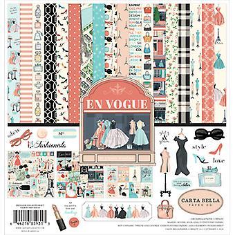 "Carta Bella Collection Kit 12""X12"" - En Vogue"