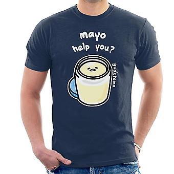 Gudetama Mayo Help Me Men's T-Shirt