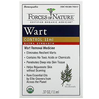 Forces of Nature, Wart Control, Extra Strength, 0.37 oz (11 ml)