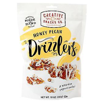 Kreatívne občerstvenie čo med pecan Drizzlers