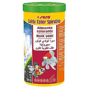 Sera Goldy Couleur Spiruline (Poissons , Nourriture , Eau froide)