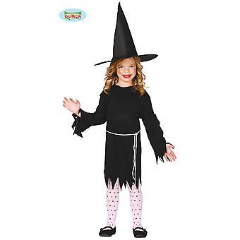 Guirca Kleine Hexe Kinder Kostüm
