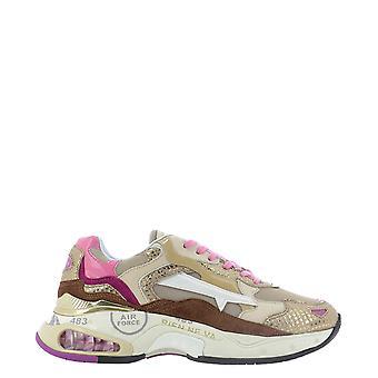 Premiata Sharkyd0039d Women's Multicolor Leather Sneakers