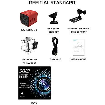 Upgrad Version Sq23 Ip Camera Hd Wifi Small Mini Camera Cam 1080p - Night Vision