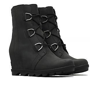 Sorel Nubuck Leather Joan Of Arctic Wedge Boots