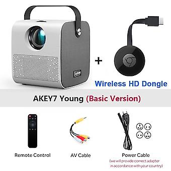 Mini Akey7 Young Projector Native 2800 Lumens Led Projector For Full Hd 3d Video Beamer Home Cinema