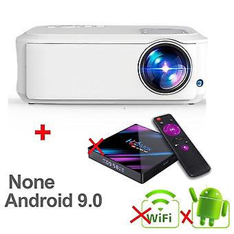 T59 4k Full Hd Native Android 10.0 Wifi Smart Home Cinema Video Led Portable Projector