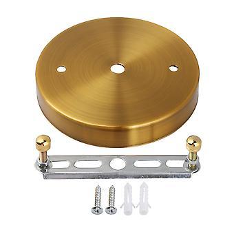 Loft lys plader Belysning Dele Golden Bronze