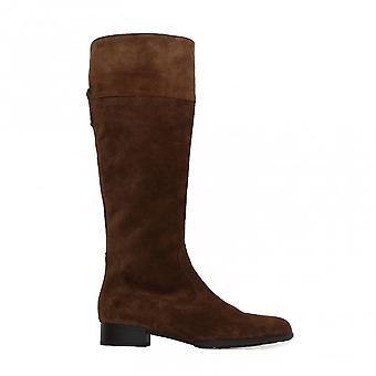 גאבור דני 509-14 עור סוויד חום נשים מגפי רגל ארוכה
