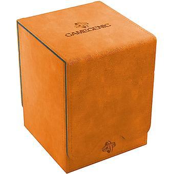 Gamegenic Squire 100-Card Convertible Deck Box Orange