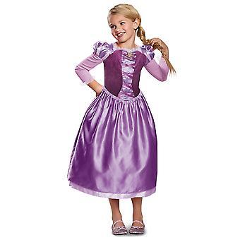 Rapunzel päivä mekko Classic Disney Tangled sarjan kirja viikko tyttöjen puku