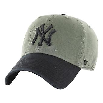 47 Yankees de New York Marque Two Tone Clean Up Cap - Moss