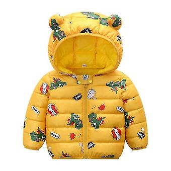 Autumn Winter Newborn Baby Clothes For Baby Jacket Dinosaur Print Outerwear