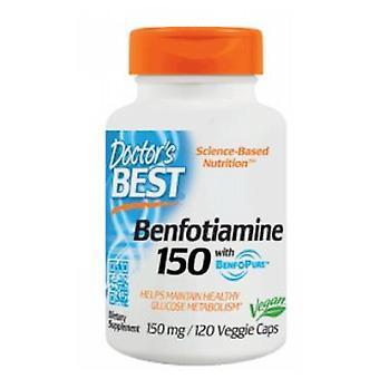 Ärzte Beste Beste Benfotiamin, 150 mg, 120 Vegegie Caps