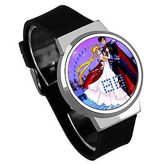 Impermeable Luminoso LED Digital Touch Reloj de niños - Sailor Moon #27