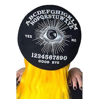 Kreepsville 666 Ouija Musta barettihattu