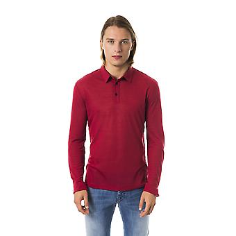 BYBLOS Amaranto Classic Polo Long Sleeve T-shirt