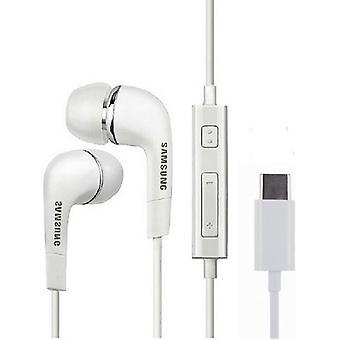 סמסונג EHS64AVFWE אוזניות USB-C InEar אוזניות עבור הטלפון החכם USB-C - לבן