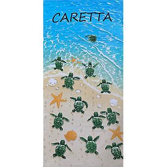 Aqua Perla Turkish Cotton Beach Towel Sea Shore