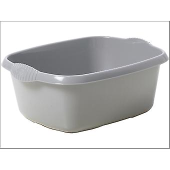 What More Homewares Rectangular Bowl Silver 11285