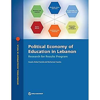 Political economy of education in Lebanon: research for results program (International development in focus)