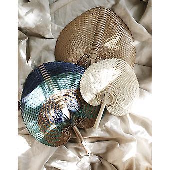 ハンド織りのパンダンストローファン