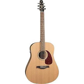 Seagull 46416 s6 original slim qit guitare électrique acoustique