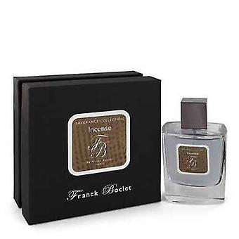 Franck Boclet Incense By Franck Boclet Eau De Parfum Spray 3.4 Oz (men) V728-543654