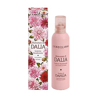Shades of Dahlia Deodorant Lotion 100 ml (Citric - Floral)