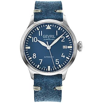 Gevril Men's Vaughn Stainless Steel Braelet Watch