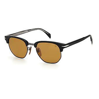 David Beckham DB1002/S 807/2M Black/Brown Sunglasses
