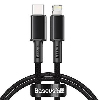 USB-C to Lightning Cable 1m - Fastcharger Black