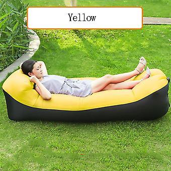 Sofa extérieur Sac de couchage portable Pliage rapide adultes gonflables Kids Beach