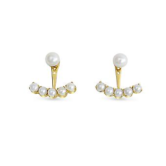 Earrings Mingle Full Pearls and 18K Gold