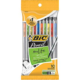 Mechanical Pencils, 0.7Mm, Pack Of 10