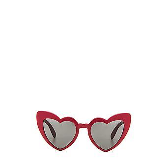 Lunettes de soleil rouges femme Saint Laurent SL 181