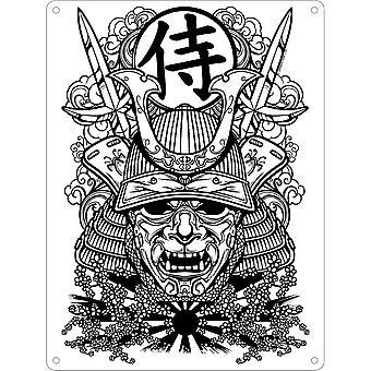 Unorthodox Collective Edo Warrior Mask Plaque