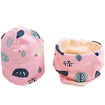 Sjaal-kraag Set Cotton Kids Hat Set