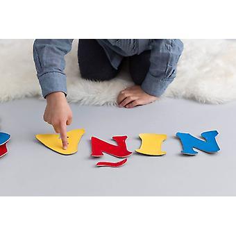 Bolsa de alfabeto español