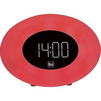 Dual WL 2 Radio alarm clock FM AUX, FM, USB Battery charger, Mood lighting, Daylight effect, Alarm clock White