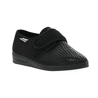 Emanuela 649 black slipper shoes