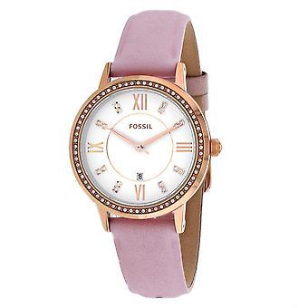 Fossil Women's Gwen White Dial Watch - ES4877