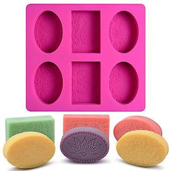 Handgemaakte zeep maken ambacht voor thuis badkamer (willekeurige kleur)