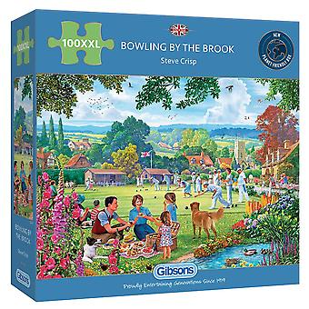 Gibsons 100XL Piece Bowling By The Brook Jigsaw Puzzle