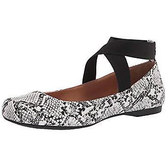 Jessica Simpson Femmes Mandalaye Cuir Fermé Toe Ankle Strap Slide Flats