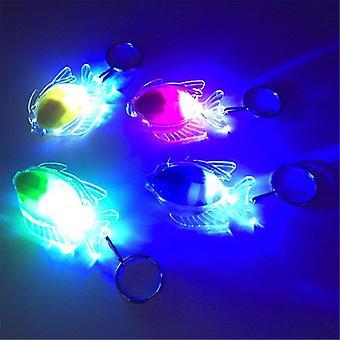 Mini Fish Led Light-up Keychain