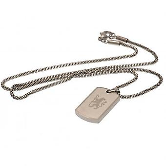 Chelsea Icon Dog Tag & Chain