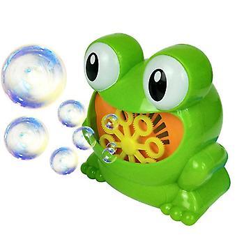 Water Blowing Cute Cartoon Animal Automatic Bubble Machine Maker