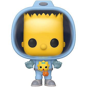 The Simpsons Bart with Chestburster Maggie Pop! Vinyl